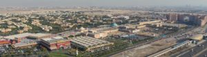 Ibn Batutta Mall - Aerial View