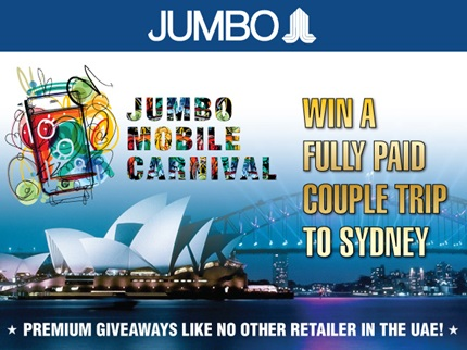 Jumbo Electronics Mobile Carnival Offer In Mall Of The